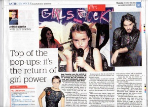 Preview for Girls Rock! by Bath Chronicle