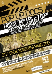 POP UP DOCS presents: OSCAR-NOMINATED SHORT DOCS